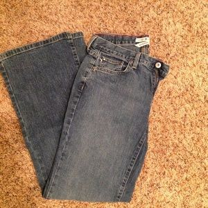 Tommy Hilfiger size 6 jeans, low rise flare